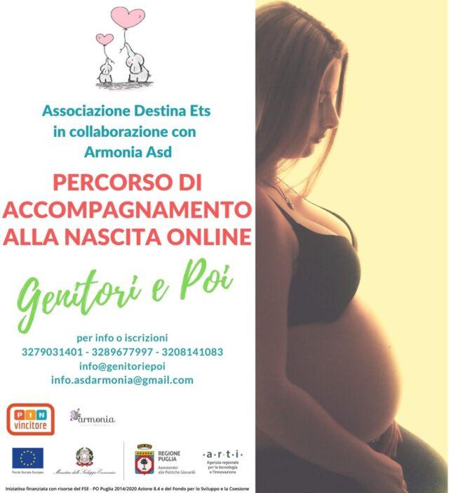 percorso accompagnamento nascita online premaman