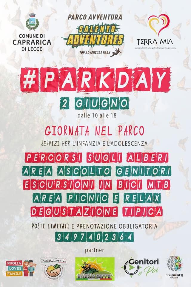 parkday 2giugno avventura relax parco